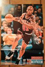 IPERBASKET anno 3 n. 10 + POSTER NBA - DENNIS RODMAN - CHICAGO BULLS