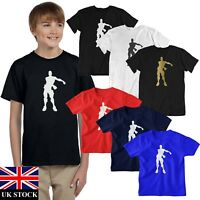 Boys Mens FLOSS T Shirt Top KIDS fortnight PS4 XBOX FORT Game Nite Royale Battle