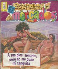 SENSACIONAL DE MERCADOS MEXICAN COMIC #100 MEXICO SPANISH SPICY HISTORIETA 1994