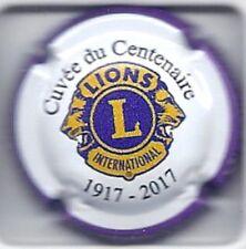 Capsule de Champagne LIONS CLUB cuvée du Centenaire 1917-2017