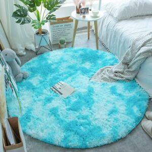 Fluffy Mat Shaggy Living Room Carpet Living Room Rugs Large Rug Round Rug Carpet