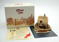Lilliput Lane Partridge Cottage, Christmas Collection, Discontinued Vintage 1993