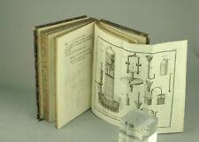 LAVOISIER Opuscules Physiques et Chimiques 1801 livre ancien planches Sciences