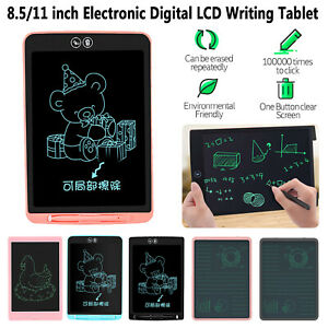 """8.5"""" 11"""" Electronic Digital LCD Writing Tablet e-Writer Drawing Board Graphics"""