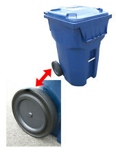 "Roll-Tech 12"" Rubber Tread Garbage / Trash Can / Waste Container / Cart Wheel"