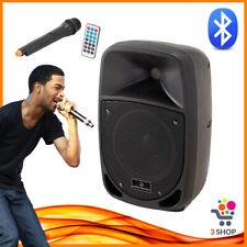 Cassa Bluetooth Portatile Amplificata per Karaoke attiva acustica con Microfono