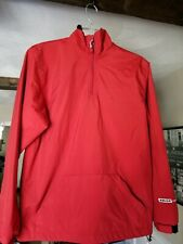 Bauer Hockey Lightweight Warm Up Jacket Youth Size Large Red