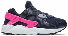 Nike Huarache Run PS Kids Girls Boys Black Pink Toddlers Baby UK10 US10.5C - NEW