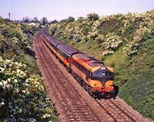 PHOTO  IRISH RAILWAY - CIE LOCO NO  014 RUSH&LUSK 21.05.1988