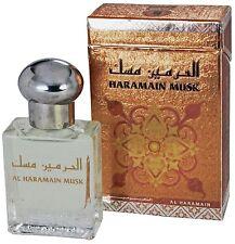Haramain Musk 15ml By Al Haramain White Musk and Sandalwood Perfume Oil / Attar