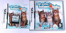 """Nintendo DS JEU """"mon premier Chats-bébé petits chats"""" complet"""