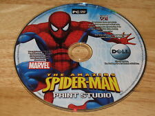 The Amazing Spider-Man Print Studio PC DVD-ROM 2007 Marvel for Windows XP/Vista