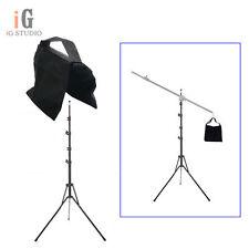 Photography Foldable Studio 220 cm Light Flash Stand Support Tripod + Sand Bag