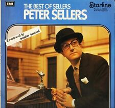 PETER SELLERS the best of sellers MRS 5157 uk starline reissue LP PS EX/EX