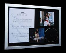 AMY WINEHOUSE Rehab LIMITED Nod CD MUSIC FRAMED DISPLAY