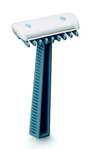 CASE OF 100 SURGICAL PREP RAZORS, DOUBLE EDGE WITH COMB