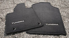 Toyota Tundra 2012-2013 Black Carpet Carpet Mats - OEM NEW!
