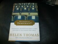 Watchdogs of Democracy? Book Autographed by Helen Thomas