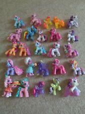 my little pony figures x 25 small ponyville