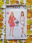 BUTTERICK 5578 sewing pattern CHECKED / COMPLETE 1960s vintage retro