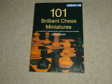 JOHN NUNN: 101 BRILLIANT CHESS MINIATURES