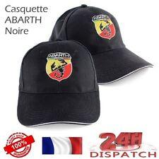 Casquette baseball cap ABARTH FIAT - NOIR - berretto tapa kappeCasquette basebal