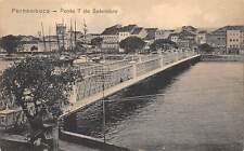 RECIFE, PERNAMBUCO, BRAZIL ~ PONTE 7 DE SETEMBRO & SURROUNDINGS ~ dated 1911