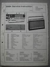 SABA Transeuropa 2000 Automatic E Service Manual