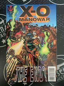 X-O MANOWAR #68 1996 NM Valiant Comics HTF Last Issue!