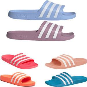 Adidas Womens Sliders Adilette Beach Slides Shoes Sandals Slip ons Flip FLops