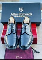 allen edmonds mens dress shoes black 9.5 D Executive Oxford Hillcrest Lace Ups