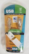 BELKIN MACINTOSH USB 10' 3M EXTENSION CABLE A PLUG/ A RECEPTACLE F3U134-10