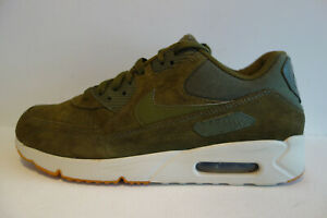 Nike Air Max 90 Ultra 2.0 Leather olive weiss   Gr.43