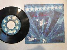 Eddie Vedder Mike McCready signed Fan Club 45 record LP coa + Proof! Pearl Jam