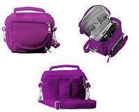 Nintendo DS Bag Travel Carry Case for DS 2DS 3DS DSi XL Purple