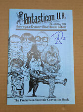 Terry Pratchett  Jeremy Bulloch Plus Hand Signed Fantasticon UKI Convention 1997