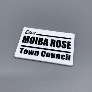 Schitt's creek Inspired Moira Rose For Town Council Magnet.