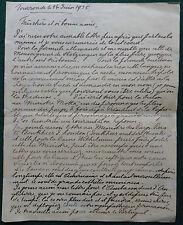 Princess Henriette Marie of Belgium Signed Letter 1935 League of Nations Soviet