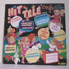 """33T HIT TELE TV ENFANTS Vol 2 Disque LP 12"""" J FIRST STARSKY & HUTCH GOLDORAK"""
