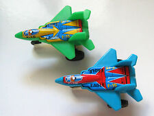 Vintage F-15 Eagle Aircraft Jet Airplane Jet Friction Toys (2 planes*)