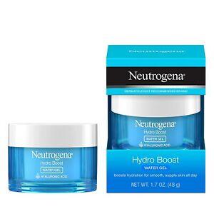 LOT OF 3 - Neutrogena Hydro Boost WATER GEL Facial Moisturizer 1.7 oz, EXP: 2023