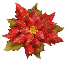 Sizzix Bigz Layered Tattered Poinsettia & Emboss die #662170 MSRP $24.99 Holtz