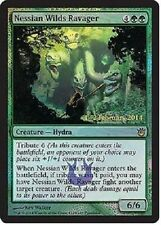 Nessian Wilds Ravager LP X4 FOIL Pre-release Promo Card Born of the Gods MTG