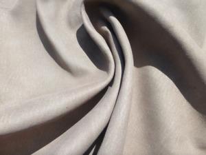 goatskin leather hide Shark Skin Grey Stone Washed Antiqued Matte finish 2oz
