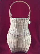 Hand Woven Ash Basket Nancy Sheehan Artisan The Pennsylvania Basket Company