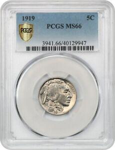 1919 5c PCGS MS66 - Buffalo Nickel
