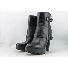 Guess Clary Women US 7.5 Black Ankle Boot Pre Owned  1822