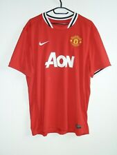 NIKE >> Manchester United Trikot AON ManU Red Devils Authentic Dry Fit