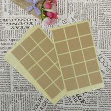 150pcs Vintage Blank Kraft Label Stickers Baking Package Paper Tags Stickers PT