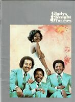 Gladys Knight & The Pips 1975 original Concert Tour Book Program